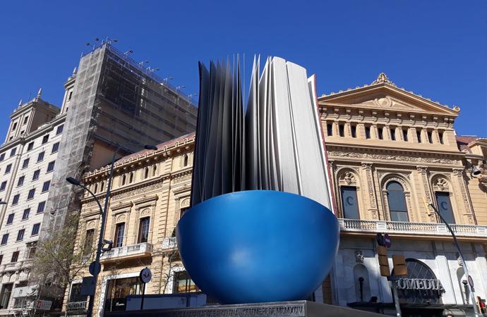Arte en las calles de Barcelona